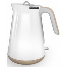 Morphy Richards Cordless Aspect Wood Trim Kettle - White