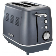 Morphy Richards Evoke Stainless Steel Toaster - 2 Slice, Blue