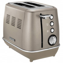 Morphy Richards Evoke Stainless Steel Toaster - 2 Slice, Platinum