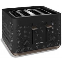 Morphy Richards Prism Toaster - Black