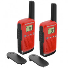 Motorola Talkabout T42 Walkie Talkie Twin Pack Red