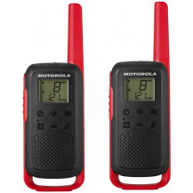 Motorola TLKR T62 Walkie Talkie Twin Pack - Red