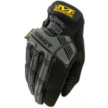Mechanix Wear M-Pact Impact-Resistant Gloves - Medium, Grey/Black