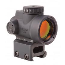 Trijicon 1x25 MRO 2.0 MOA Adjustable Red Dot Sight - Full Co-Witness Mount