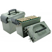MTM Shotshell Dry Box Ammunition Box - 12-Gauge, 100 Rounds - NO Ammo Included, Only 1 Box