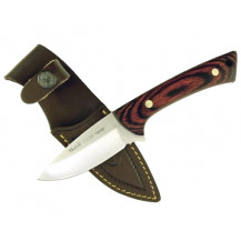 Muela Colibri Col-9.R Skinner Knife - Front View ( with Sheath)