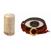 Mushroom Network Macrame Fruiting Chamber Kit - Rustic Red, Black Base, Brown Oyster