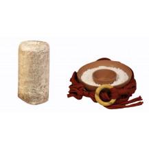 Mushroom Network Macrame Fruiting Chamber Kit - Rustic Red, Terracotta Base, Chestnut Mushroom