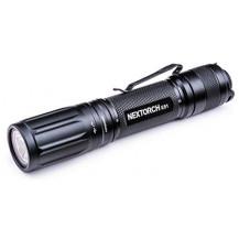 Nextorch E51 V2.0 Rechargeable Flashlight - 1400 Lumens, Black