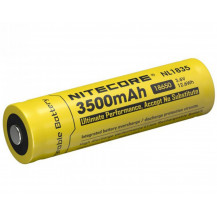 Nitecore 18650 Li-Ion Rechargeable Battery - 3500 mAh
