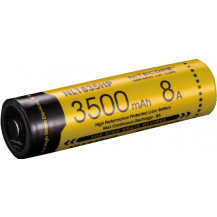 NiteCore 18650 High Drain 8A Rechargeable Battery - 3500mAh