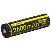 Nitecore 18650R 2600mAh USB Rechargeable Battery