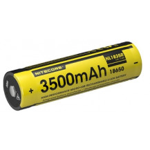 Nitecore 18650R 3500mAh USB Rechargeable Battery