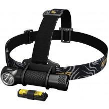 Nitecore HC33 Headlamp + F1 Charger