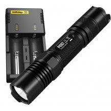 Nitecore P10GT Flashlight + i2 Charger