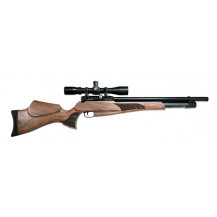 JKHan Noblesse Standard PCP Air Rifle - 5.5mm, Walnut