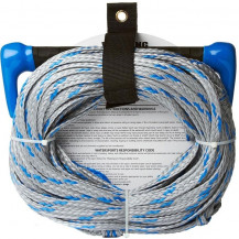 O'Brien Tow Rope And Handle 1 Section Combo - Blue/Silver, 22.8m