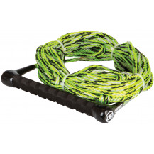 O'Brien Tow Rope And Handle 2 Section Combo - Green/Black, 22.8m
