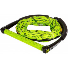 O'Brien Poly-E Tow Rope And Handle 4 Section Combo - Black/Yellow, 21m