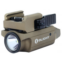 Olight PL-Mini 2 Valkyrie Gun Flashlight - 600 Lumen / 100m, Tan