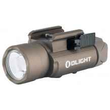 Olight PL-Pro Valkyrie Gun Flashlight - Desert Tan - Front View