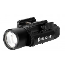 Olight PL-Pro Valkyrie Gun Flashlight - Black - Front View