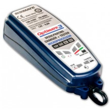 TecMate OptiMate 3 - Desulphating Charger/Maintainer/Tester for 12 V Batteries