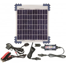 TecMate Solar Panel & Charge Controller & Monitor - 10W, 0.83A