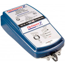 TecMate OptiMate 7 Select - Desulphating Battery Charger, Maintainer & Tester - 12V - 10A / /24V - 5A