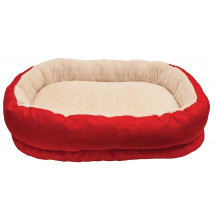 Rosewood 40 Winks Pet Orthopaedic Bed - Medium, Red