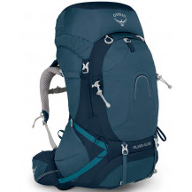 Osprey Aura AG 65 Women's Backpack - Challenger Blue, Medium