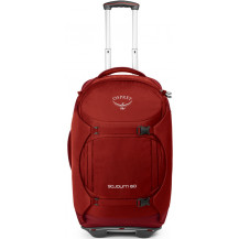 Osprey Sojourn 60L Convertible Wheeled Travel Backpack - Hoodoo Red Front View