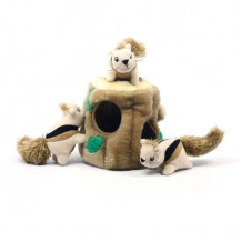 Outward hound hide a squirrel dog toy -  large