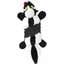 Outward Hound Invincibles Roadkillz Dog Toy - Skunk