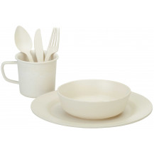 Oztrail Bamboo Hikers Dinner Set