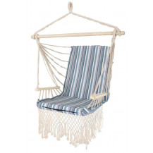 Oztrail Brazilian Padded Hammock Chair with Arms - Blue