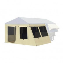 Oztrail Camper 67 Canvas Sunroom & PVC Floor Kit (Tent & Trailer not included)