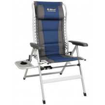 Oztrail Cascade 8 Position Armchair + Side Table - 160kg