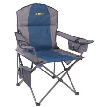 Oztrail Cooler Arm Chair - Blue, 150kg