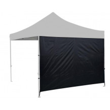 Oztrail Heavy Duty Solid Gazebo Wall Kit - Black