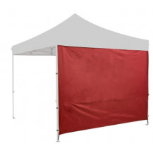 Oztrail Heavy Duty Solid Gazebo Wall Kit - Red