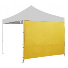 Oztrail Heavy Duty Solid Gazebo Wall Kit - Yellow