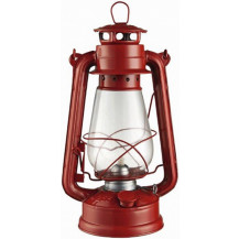 Oztrail Traditional Hurricane Lantern - Red