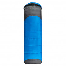 Oztrail Leichardt Jumbo Hooded Sleeping Bag Blue