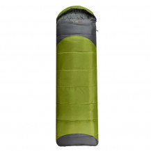 Oztrail Leichardt Jumbo Hooded Sleeping Bag - Green
