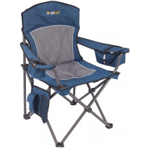 Oztrail Regal Armchair - Blue, 200kg