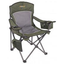Oztrail Regal Armchair - Green, 200kg