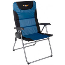 Oztrail Resort 5 Position Camping Arm Chair - Blue
