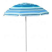 Oztrail Sunshine Beach Umbrella w - Vent - 200cm, Blue