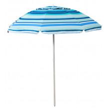 Oztrail Sunshine Beach Umbrella w - Vent - 200cm, Blue